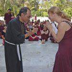 Veeresh and Chandrika in Buddha Grove