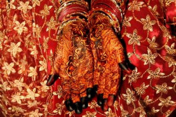 Bridal Henna Decoration