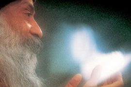 Osho with light Feat