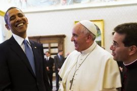 Pope Francis Obama Feat