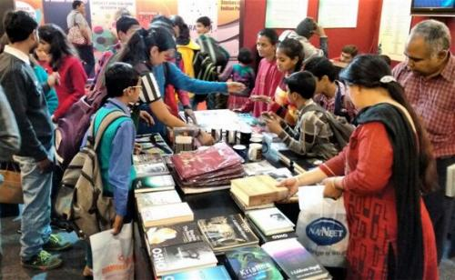 Visitors Delhi Bookfair