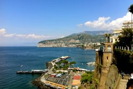 Looking north from Sorrento.