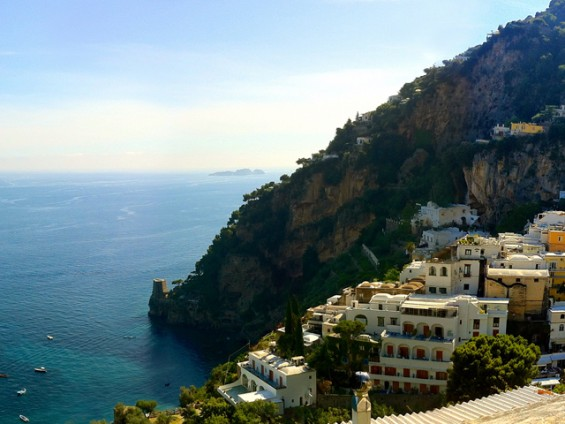 The idyllic haven of Positano.