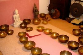 Tibetan Singing Bowls Feat