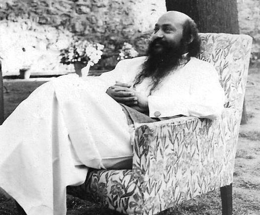 Osho in Chair