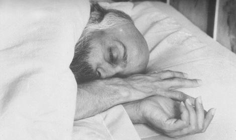 Osho sleeping Feat