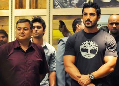 Parivartan and  fan, Bollywood star John Abraham