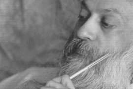 Osho with pen Feat