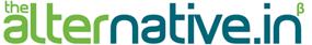the alternative.in logo