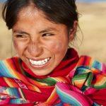 Young woman Peru