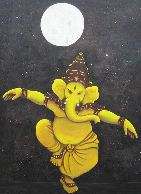 Zorba de Ganesha, 120x90 cm, 2012