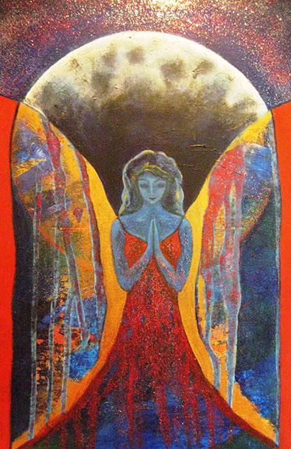 Quardian Angel, 120x90 cm, 2015