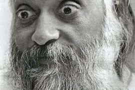 Osho wide-eyed