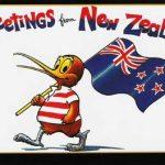 Postcard New Zealand