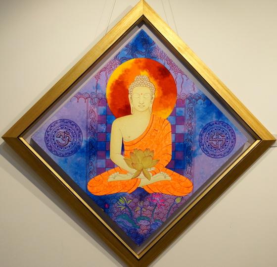 Buddha 1 by Passika