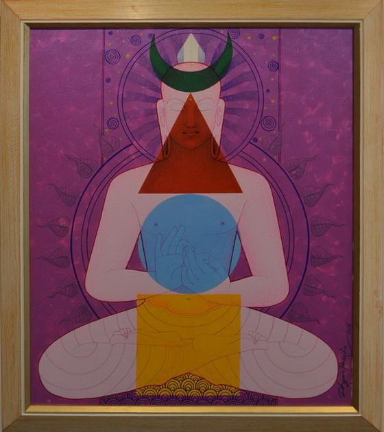 Buddha 4 by Passika