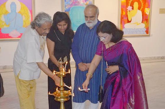 Kul Bhushan, Sarita, Keerti and Pratiksha Apurv