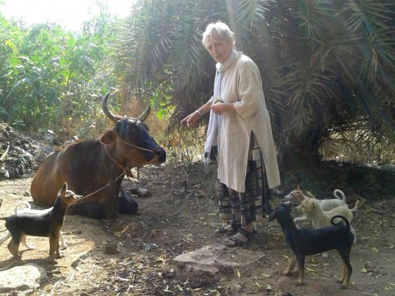 Manisha-with-animals