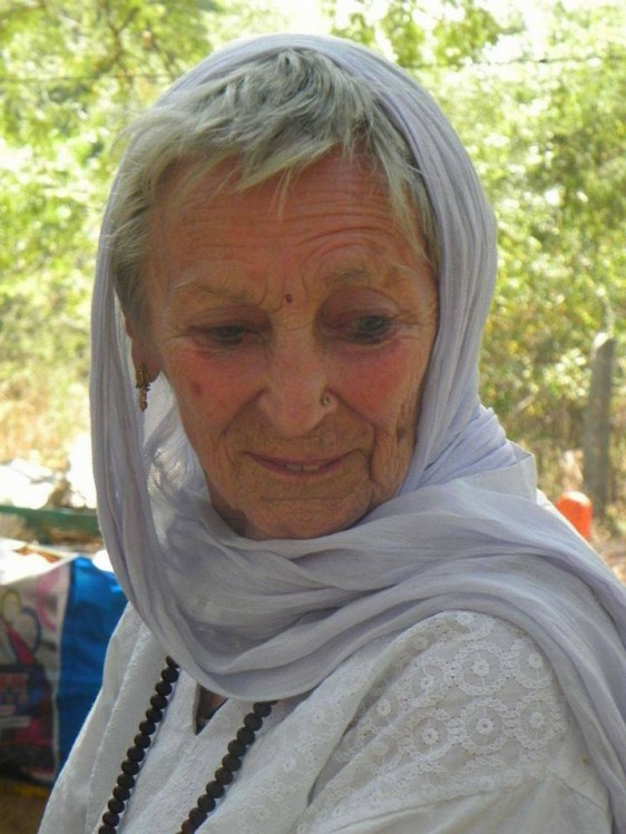 Manisha with scarf