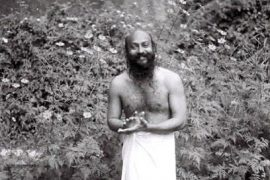 Osho in garden Feat