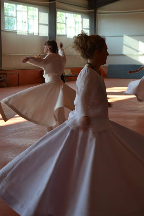 whirling at Russia festival
