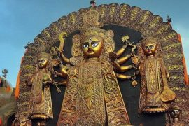 Durga idol Calcutta