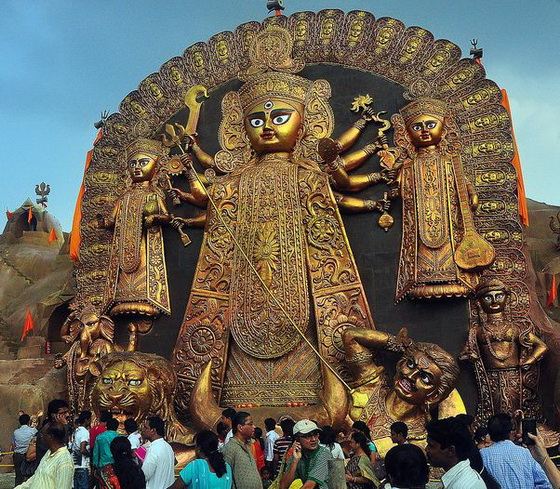Calcutta Durga Idol