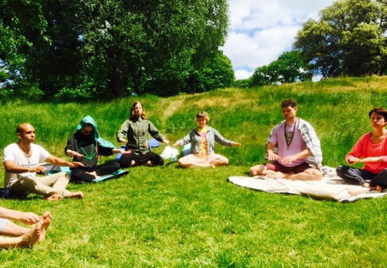 Free Osho Meditation in Greenwich Park, July 2015