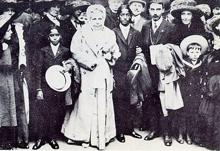 Krishnamurti and Leadbeater 1911