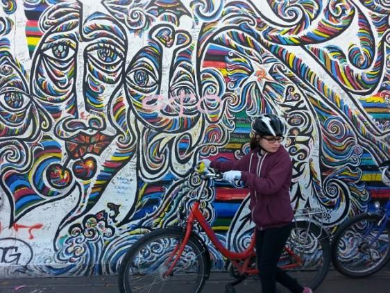 100 Berlin wall