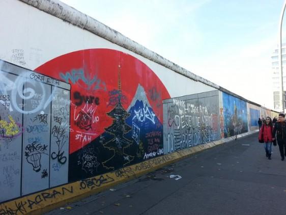 160 Berlin wall