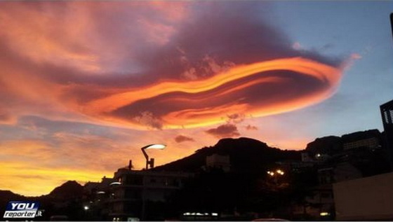 Over Etna