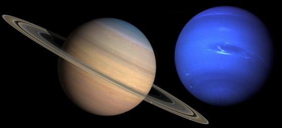 Saturn Neptune