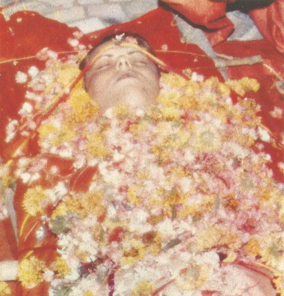 Vipassana with garlands