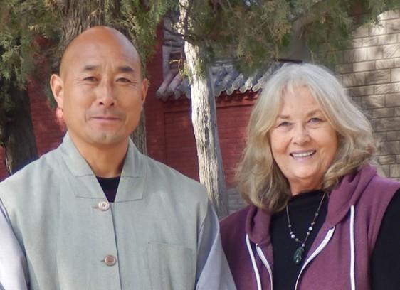with Shifu Wu Nangfang (kungfu master)