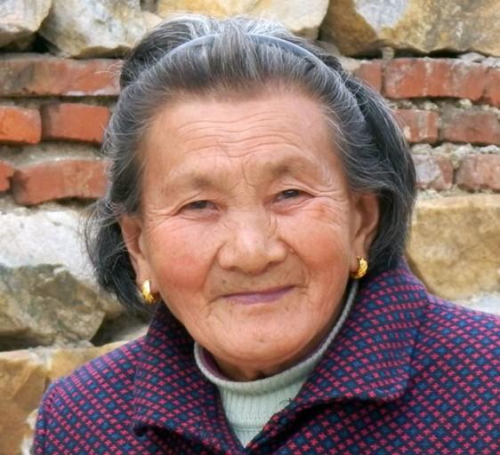 Shifu's very beautiful 90-year-old mother
