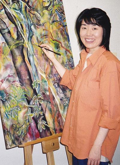 040 Mansha-painting