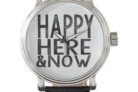 Happy here now watch