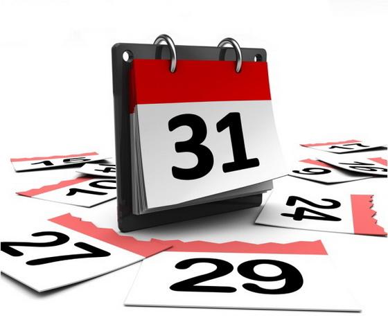 Calendar 31st