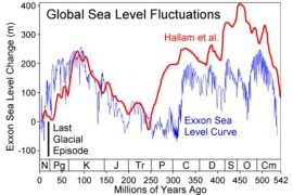 Global Sea Level Fluctuations