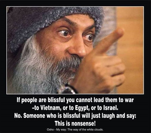 Osho on Wars
