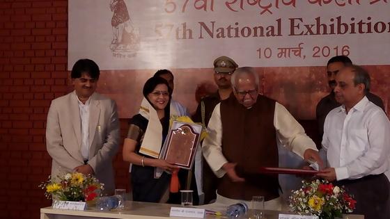 Award given to Pratiksha