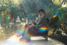 Osho in his garden Rainbow