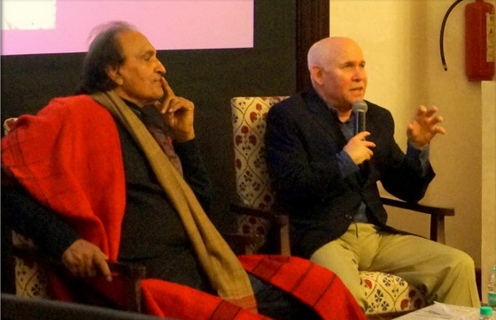 Raghu Rai and Steve McCurry