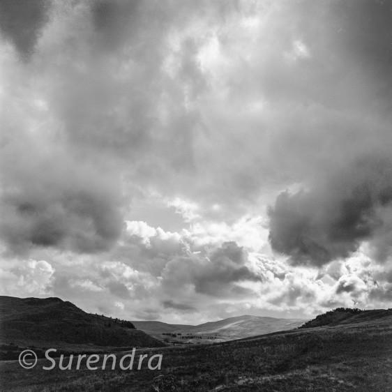 Storm, Meall Uaine, Scottish Highlands