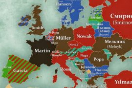 Surnames Europe Feat