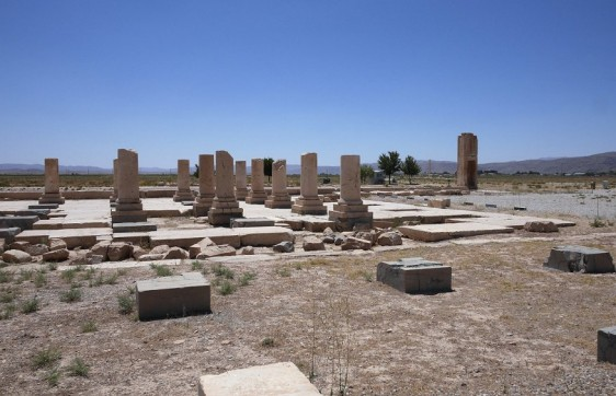 Remnants of Pasargad Palace