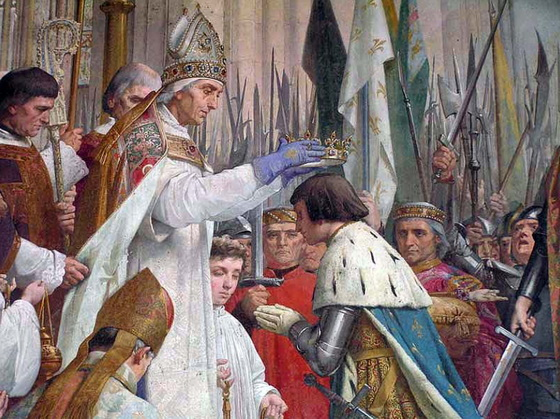 Crowning of Charles VII of France