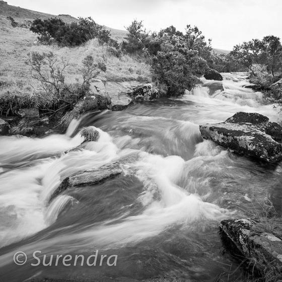 East Okement River, Dartmoor, UK