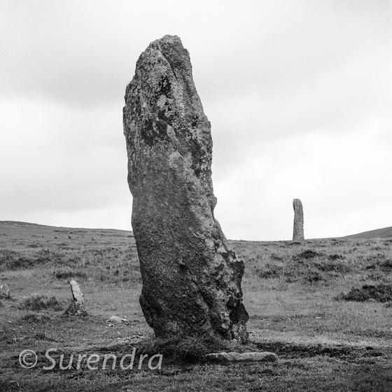 Menhirs, Drizzelcombe, Dartmoor, UK